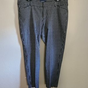 Old Navy Houndstooth Pixie Pant